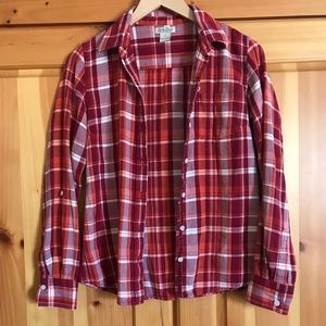 Lucky brand flannel size small